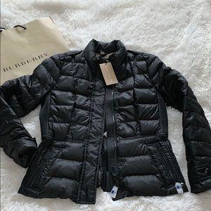 Burberry Brit down black jacket M new